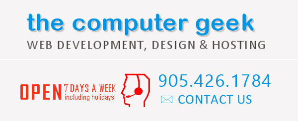 Computer Geek - web development, design & hosting