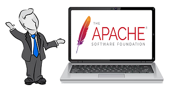 What are apache log files